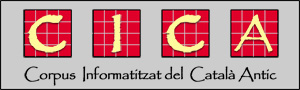 Corpus Informatitzat del Catal� Antich